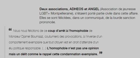 Un (ancien… sic) élu #FN de #Montpellier condamné pour #homophobie publique #LGBT
