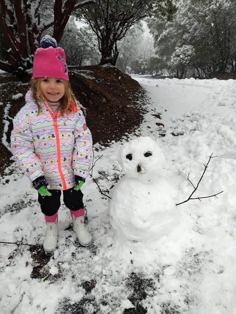 Un hiver neigeux en Californie