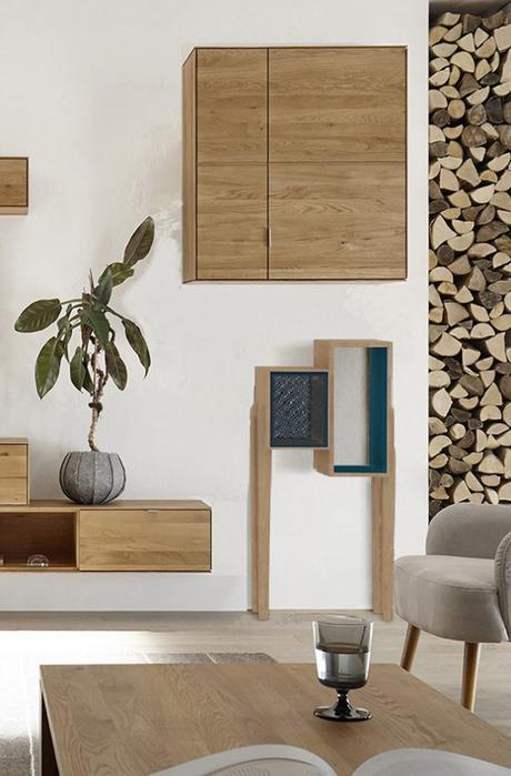 habitat connect salon bois meuble design bluetooth fauteuil gris - blog déco - clem around the corner