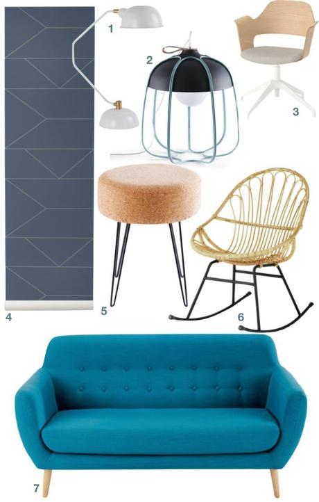 studio transformé en 2 pièces astuce meuble malin - blog déco - clem around the corner