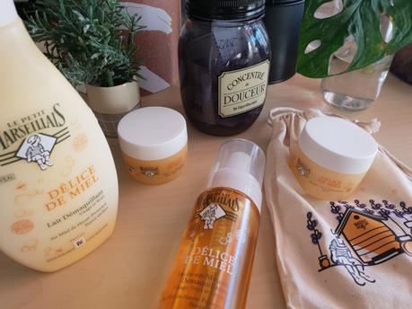 // BEAUTE // Je fonds pour la gamme Délice de Miel du Petit marseillais