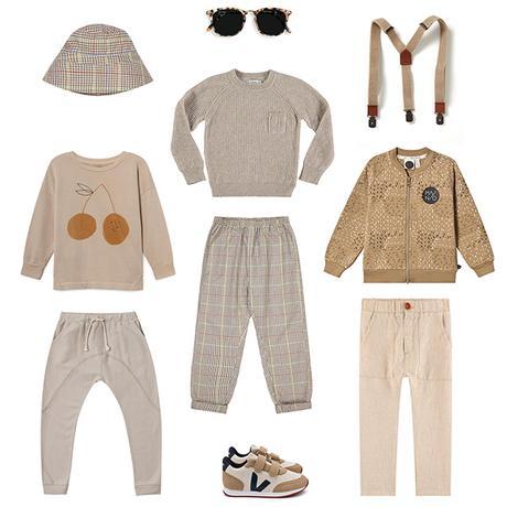 BEIGE : La couleur tendance mode enfant