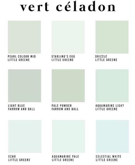 décoration vert céladon palette couleur verte - blog déco - clem around the corner