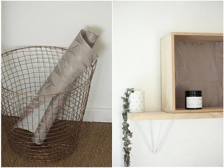 Un rouleau de papier peint : 3 possibilités