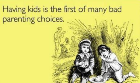 Thursday thunder throwback: parenting inequality