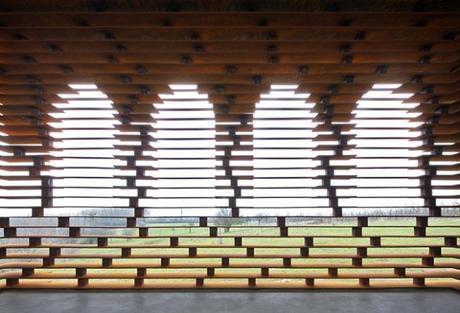 En lisant entre les lignes, un projet entre art et architecture
