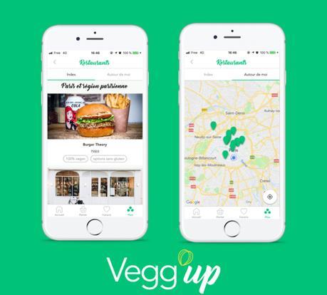 Devenir Vegan avec l'Appli Vegg'up