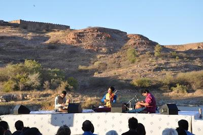 Ragas du soir au Festival de musique de Jodhpur