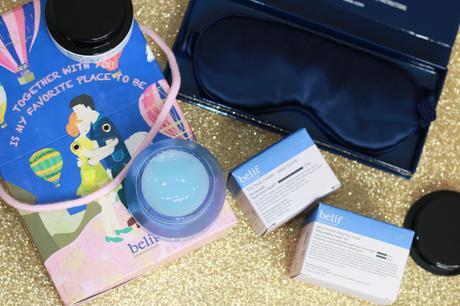 L'Aqua Bomb Sleeping Mask de Belif !