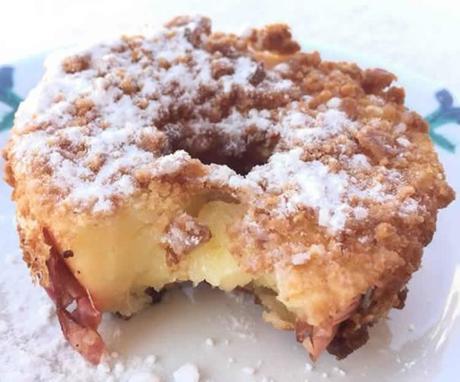 beignet fourré aux pommes au thermomix