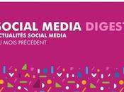 Social Media Digest Mars retour actualités réseaux sociaux