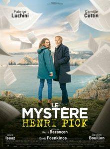 Jeu concours Le Mystère Henri Pick