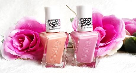 Dans ma vernithèque #9  Essie Gel Couture Collection Sheer Silhouettes 2018