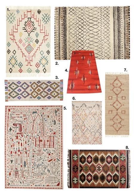comment fixer un tapis au mur berbère - blog déco - clem around the corner