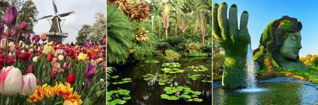 jardins et parcs botanique dans le monde