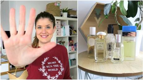 Top 5 : mes parfums préférés