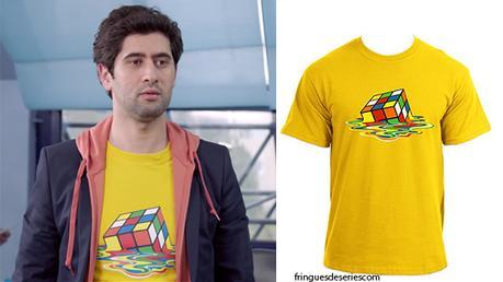 STYLE : fabrique-toi un t-shirt comme celui de Georges dans DNA