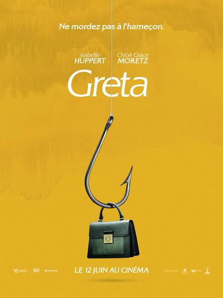 GRETA avec Isabelle Huppert et Chloë Grace Moretz au Cinéma le 12 Juin 2019