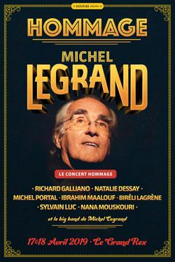 CONCERT Hommage à Michel Legrand - 17 & 18 Avril 2019 au Grand Rex à Paris