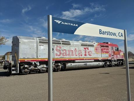 Barstow sur la route 66