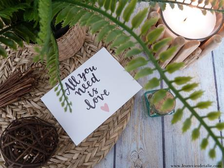 Aziza Beauty Box février / mars 2019 - All you need is love