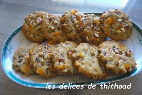 cookies choco-orange de Ludovic (le meilleur pâtissier 2018)