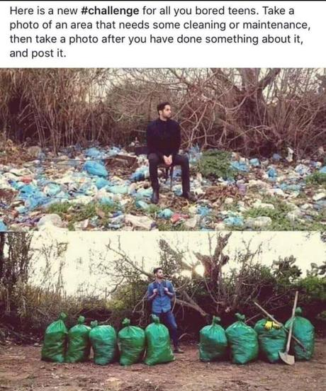 Trash Tag Challenge : enfin un challenge intelligent !