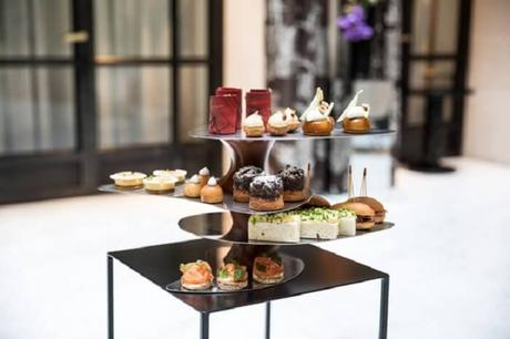 Le burgundy: Un salon de thé au TOP avec des pâtisseries gourmandes !v