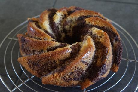 Cake marbré, recette de François Perret