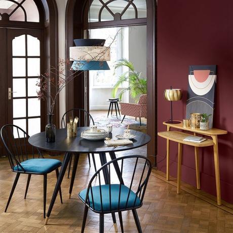 tendance néo art déco salon salle à manger décoration - blog déco - clem around the corner