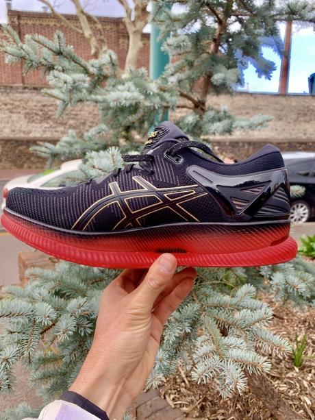 La toute nouvelle chaussure, la Asics MetaRide