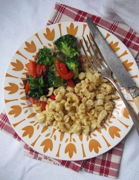 Spätzle aux petits légumes
