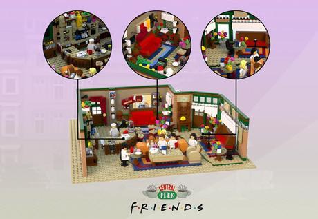 FRIENDS : le set Lego imaginé par un fan français va être commercialisé