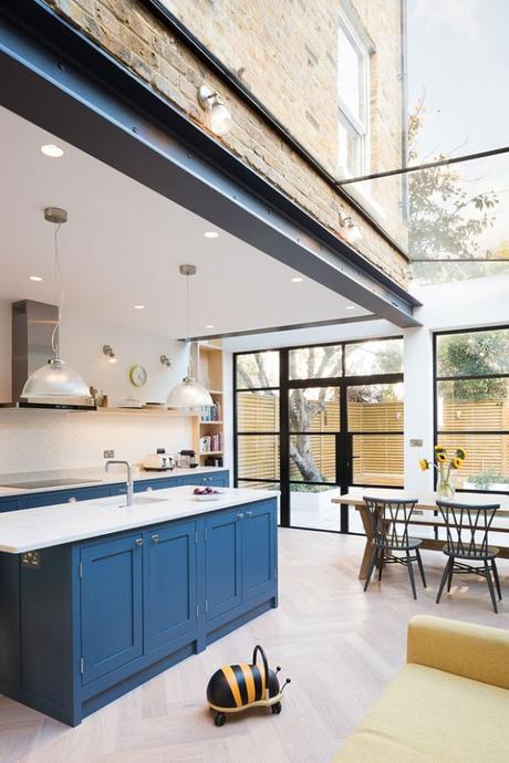 Une rénovation et une extension spacieuse et lumineuse à Londres