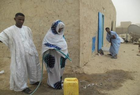 Mauritanie : l'eau coule à nouveau à Fassalé