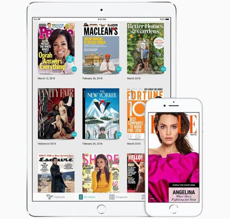 Apple News Magazine : de nouveaux détails découverts dans une bêta d'iOS