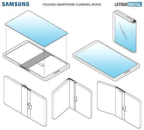 Un nouveau brevet pour Samsung.