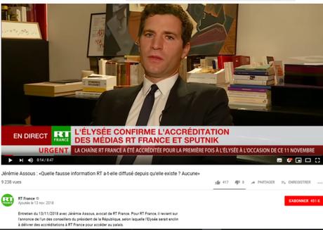 Manipulation de l'info par les réseaux russes : une vérité qui dérange (avec du @vukuzman et du #RussiaToday dedans)