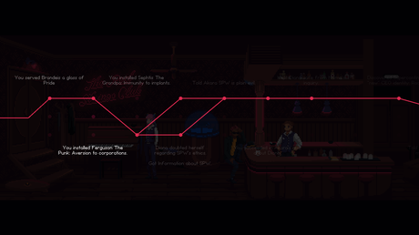 Cocktails, poterie et conspiration : The Red Strings Club sort sur Switch