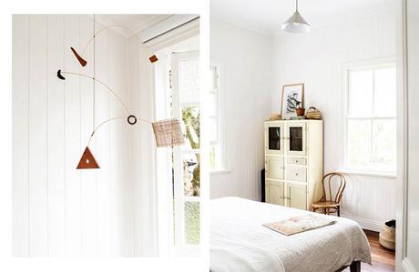 intérieur californien chambre mobile
