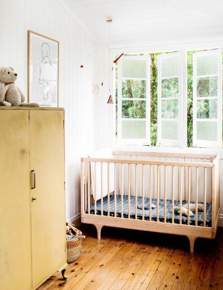 intérieur californien chambre bébé
