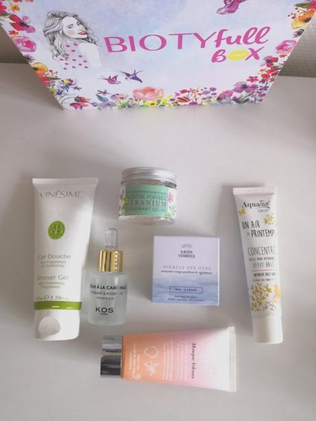[Beauté] La Biotyfull box Indispensable du mois de mars