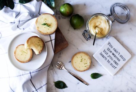 Tarte au citron vert et au basilic de Jacques Génin