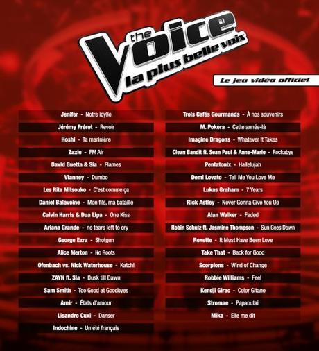 The Voice, La plus belle voix – Le jeu vidéo officiel est aujourd'hui disponible !