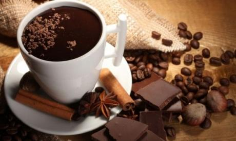 chocolat chaud eau