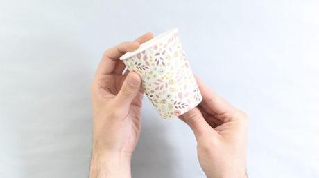 idée déco récup diy papier gobelet - blog déco - clem around the corner