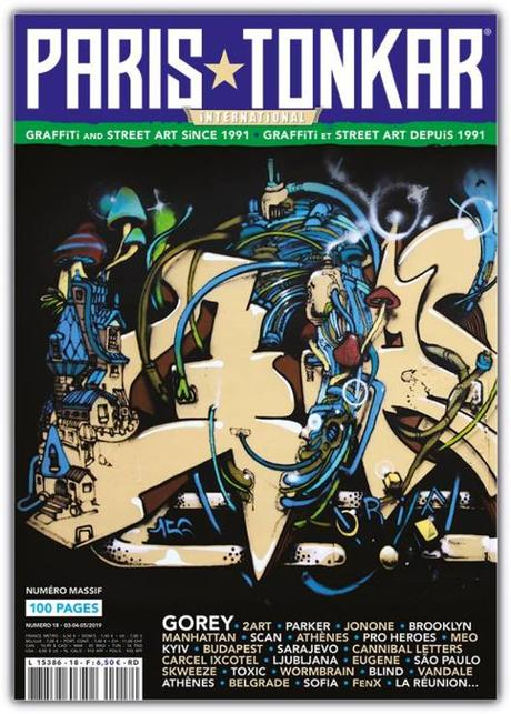 Paris Tonkar magazine #18