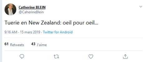 NON, en fRance, nous ne sommes pas à l'abri des terroristes identitaires… #Christchurch