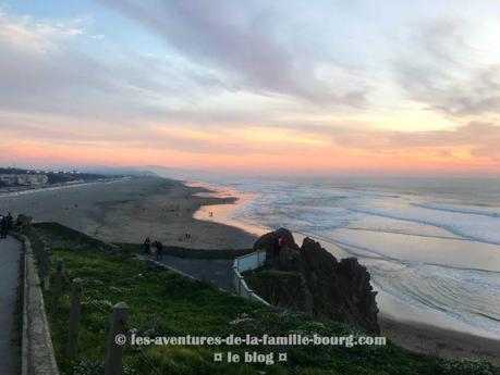 Un coucher de soleil à Ocean Beach