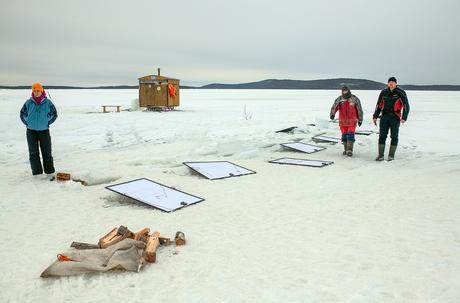 Arctique : la première exposition de photos sous la glace